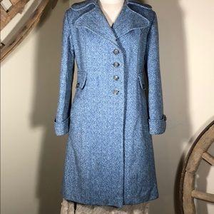 Jackets & Blazers - Vintage wool coat - blue
